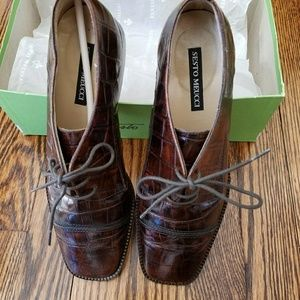 Sesto Meucci Leather Ladies Brown Shoes